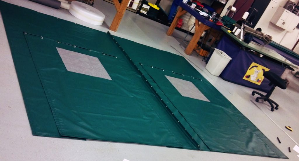 Indoor Tennis Backdrops, Padding, and Netting
