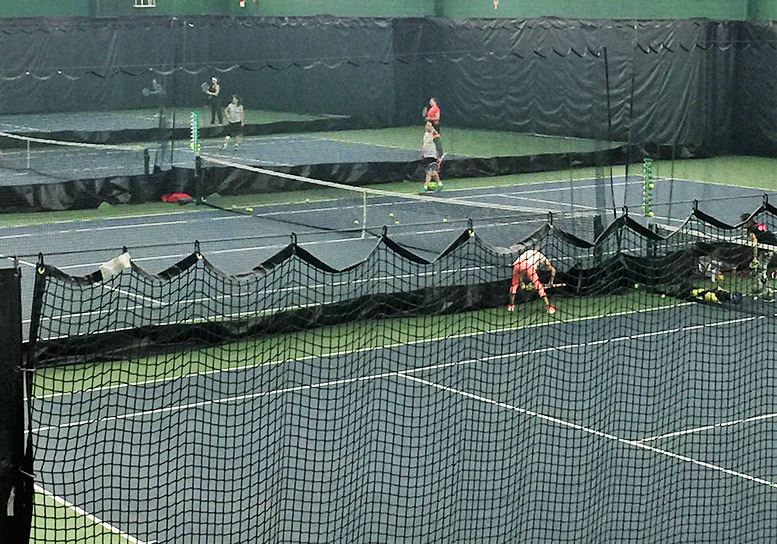 Tennis Court Dividers and Safety Netting