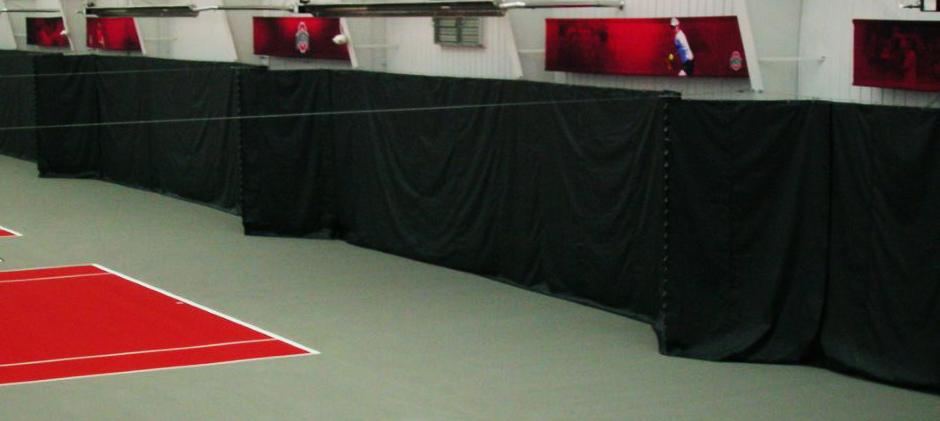 The Best Indoor Tennis Court Upgrade – Backdrop Vinyl Curtains
