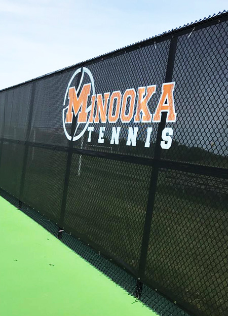 Tennis Wind Screens With Logos