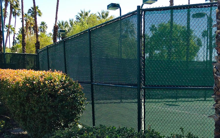 Easy Install Tennis Windscreen