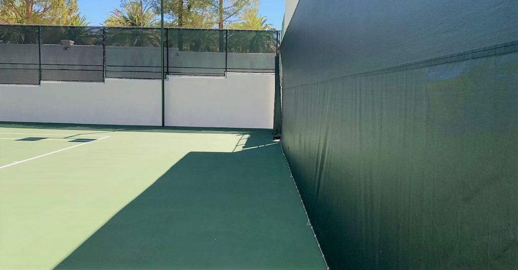 Seamless Tennis Windscreen Replacement